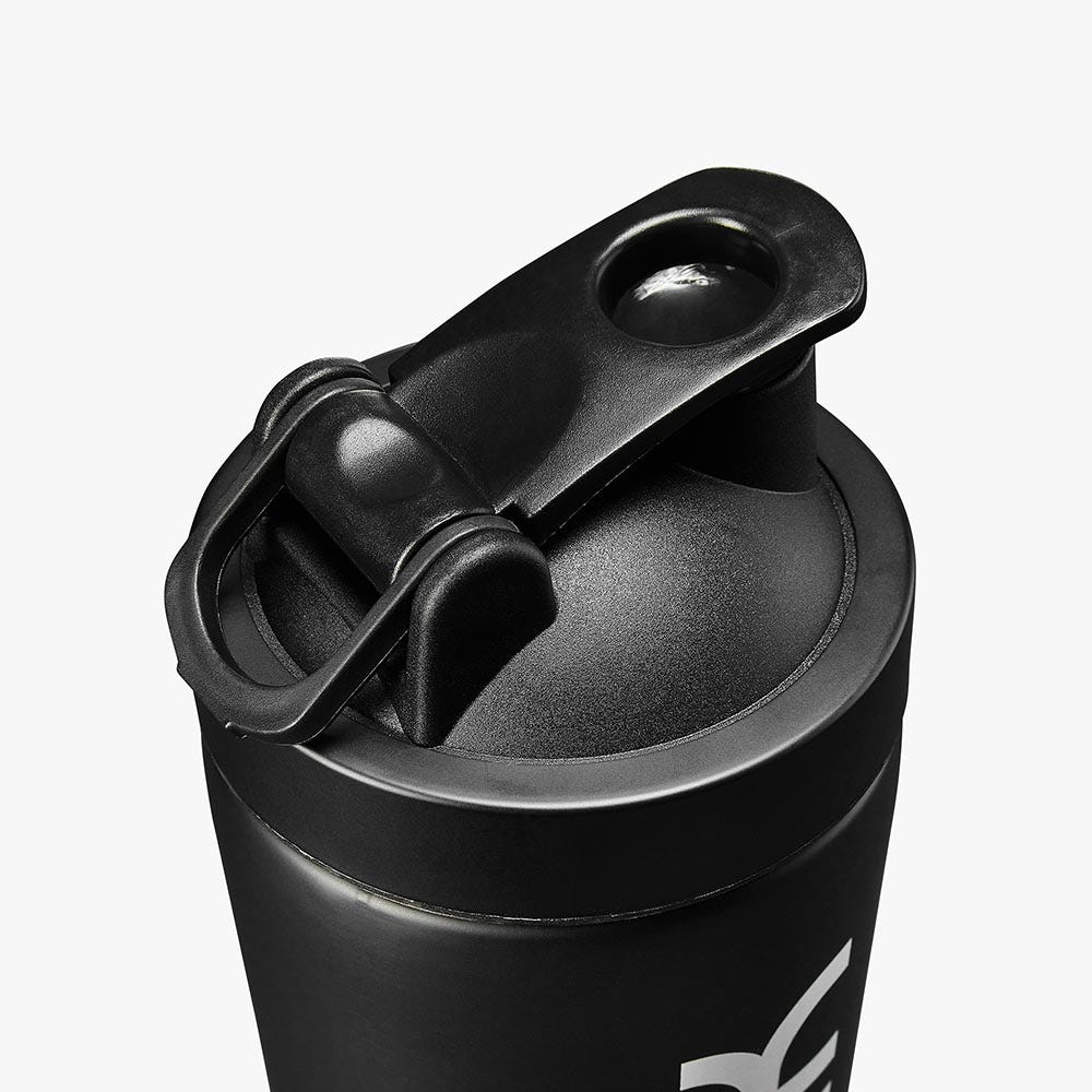 Deluxe™ Steel Shaker Bottle