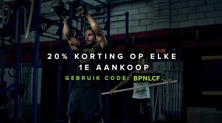 Crossfit - Nederland 20% korting bulk powders