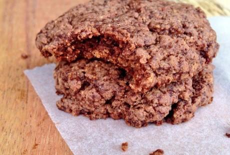 Chocoladekoekjes met amandelpasta