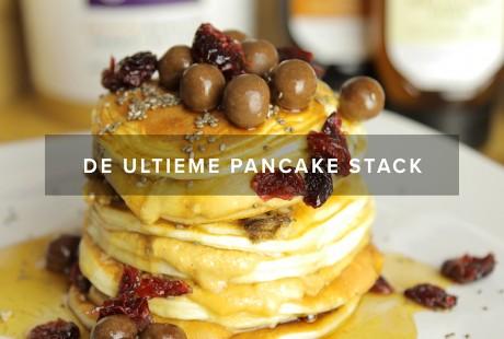 De Ultieme Protein Pancake Stack