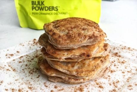 Heerlijke proteine pannenkoeken met appel & kaneel