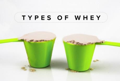 De verschillende soorten Whey Protein