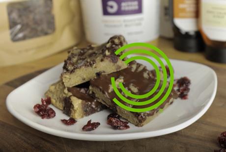 Chocolade en veenbessen plakjes – Receptenvideo