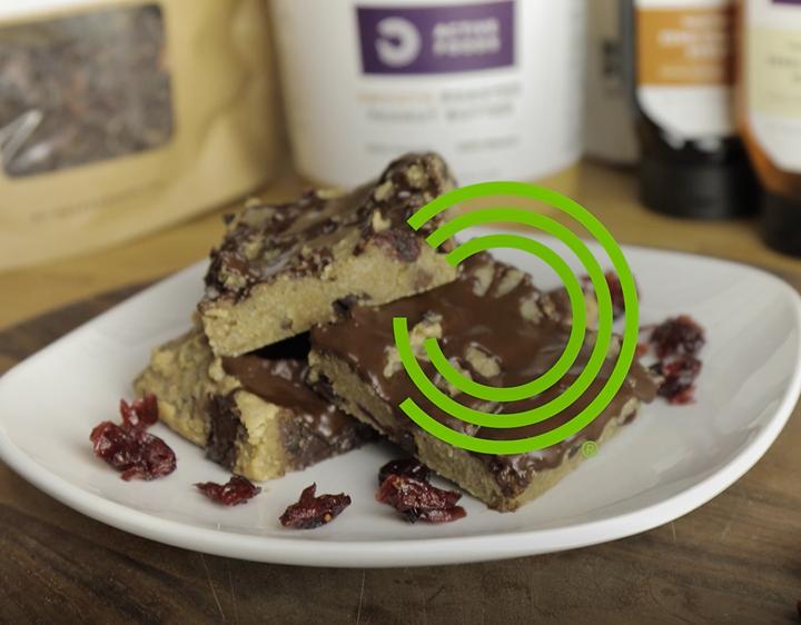 Chocolade en veenbessen plakjes | BULK POWDERS