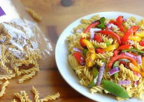 Pikante Fajita Protein Pasta - Gezonde Recepten