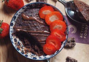 5 minuten brownie Bulk Powders