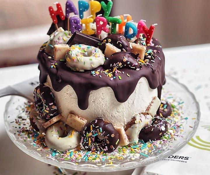 Beroemd BULK POWDERS® Fantastische Verjaardagstaart @XU77