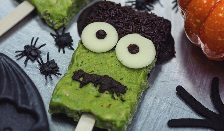 Freaky Frankenstein Pops voor Halloween