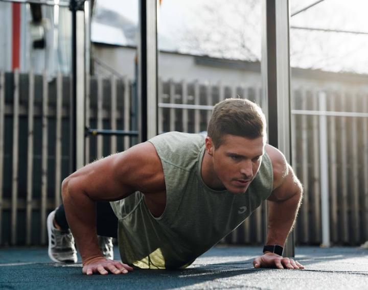 BULK POWDERS AMRAP workout Crossfit