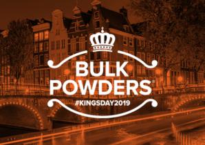 BULK POWDERS Koningsdag 2019 promotie shaker