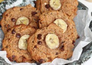Ontbijtkoekjes met banaan en chocolade BULK POWDERS®