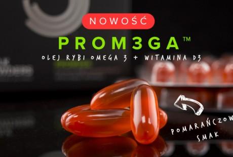 PROM3GA™ – Wysoko Wzmacniające Oleje Rybie Premium
