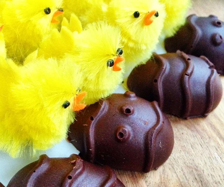 Czekoladowe Jajeczka Białkowe