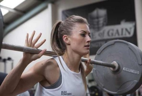 As mulheres e a musculação
