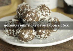 receita vegan - bolinhas proteicas de amendoa e coco