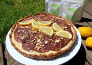 Tarte de Limão com Biomassa de Banana Verde – Receita
