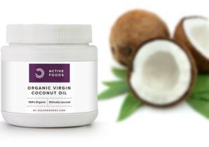 óleo de coco orgânico virgem