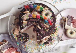 Receita bolo de aniversário com proteína