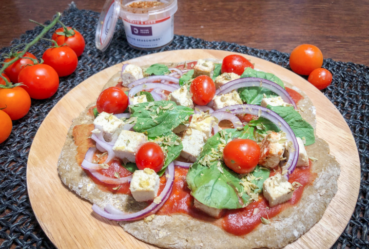 Receita – Base de Pizza Vegan