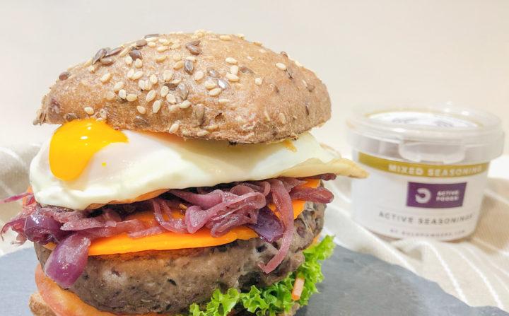 receita de hamburguer vegan de feijão preto