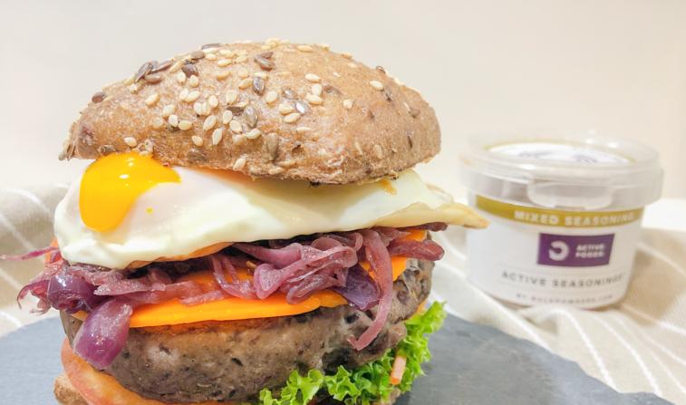 Hambúrguer Vegan de Feijão Preto – receita