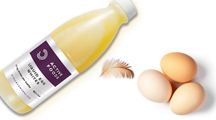 flytande äggvita - äggprotein