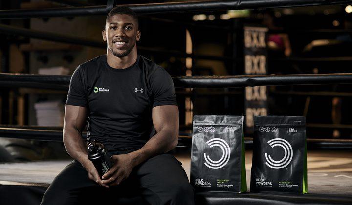 Anthony Joshua ny BULK POWDERS atlet