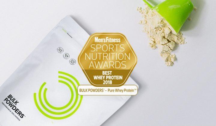 BULK POWDERS® vinner pris för bästa Pure Whey Protein™