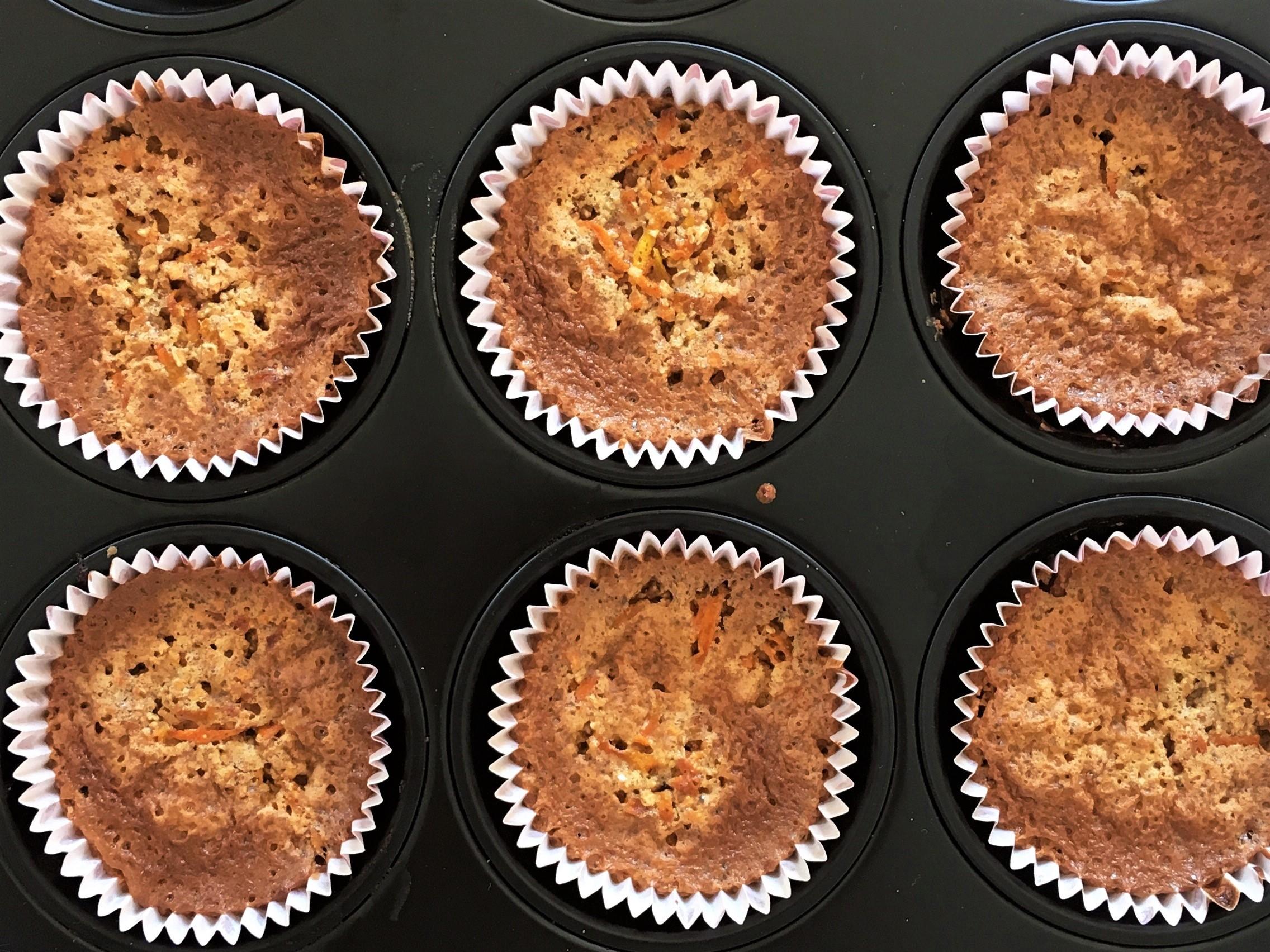 Recept: Proteinrika morotskaksmuffins