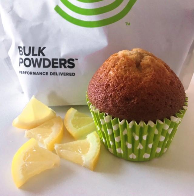 Recept: Proteinrika citronmuffins