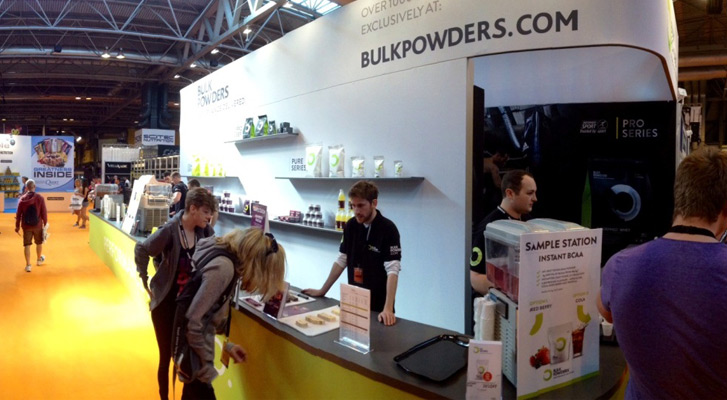 BULK POWDERS™ at BodyPower - May 2014 - The Core™
