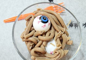 Chocolate Orange Protein Worms