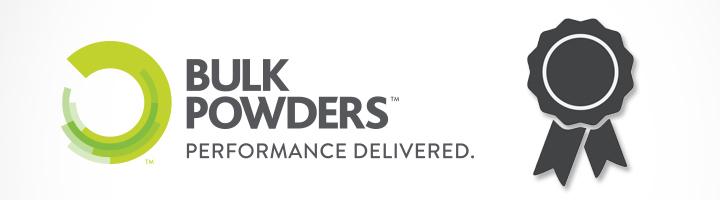 BULK POWDERS™ Awards