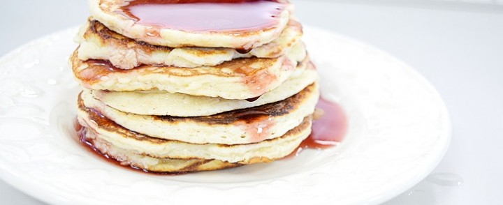 Easy Lemon Pancakes