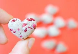 Raspberry Protein Hearts