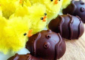 Chocolate Protein Eggs