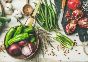 vegan-food-flat
