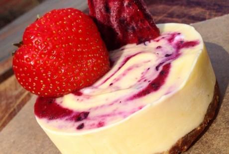 Zesty Berry Protein Cheesecake Recipe