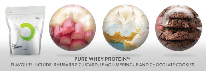 Pure Whey Protein Flavours