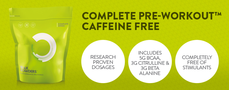 Complete Pre-Workout Caffeine Free