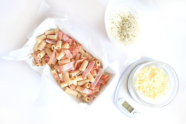 Making Macaroni Cheese