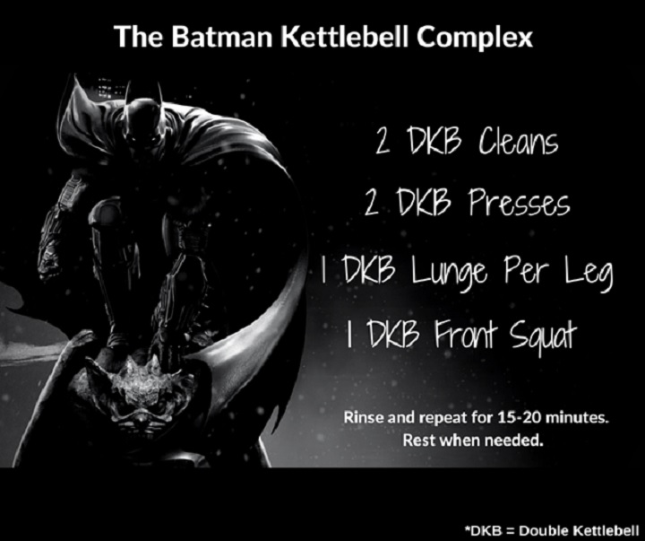Batman Kettlebell Complex