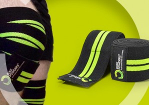 BULK POWDERS knee wraps