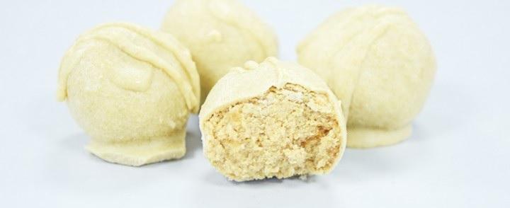 White Chocolate & Maca Protein Truffles