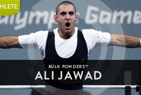 BULK POWDERS™ partnership with British Paralympic Powerlifter, Ali Jawad