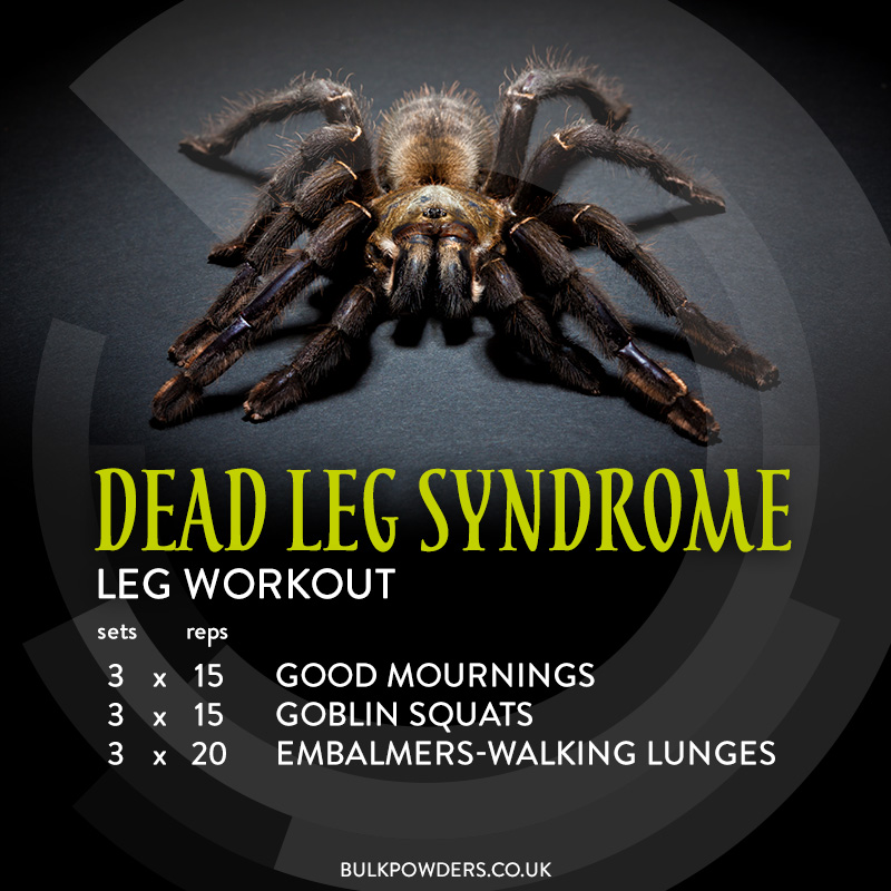 Dead Leg Syndrome Halloween Workout