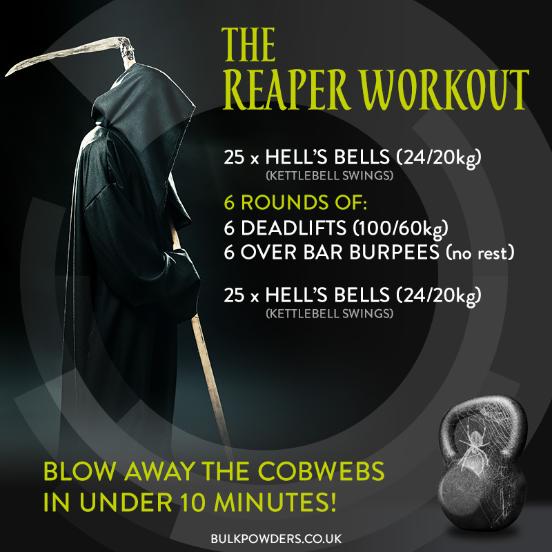 The Reaper Halloween Workout