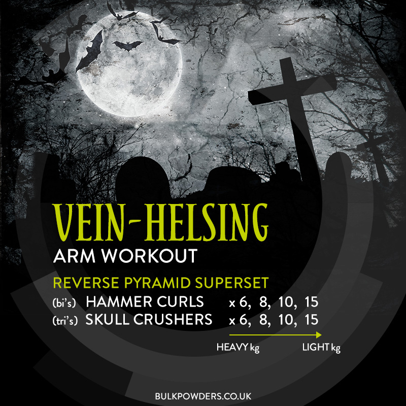 Vein Helsing Halloween Workout