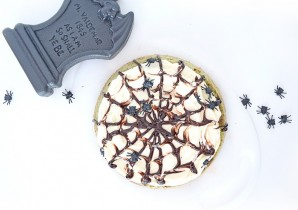 Halloween Matcha Cake Recipe