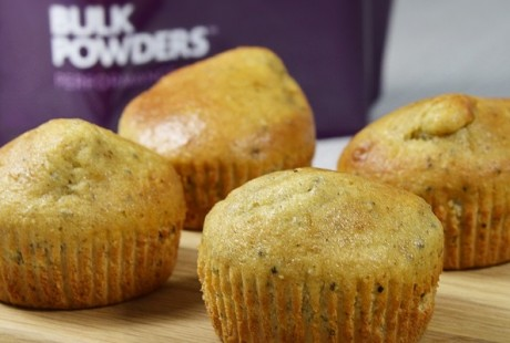 How To Make BULK POWDERS™ Chia Seed Muffins